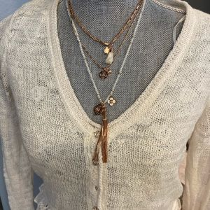Henri Bendel Multi Strand Necklace